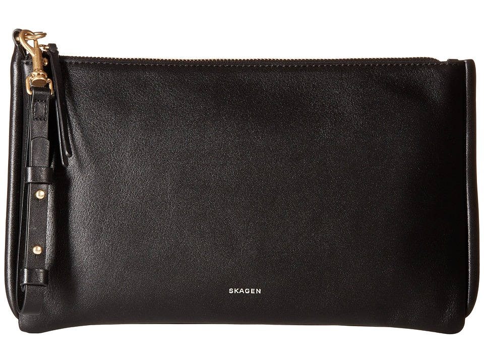 Skagen - Anesa Clutch (Black) Clutch Handbags