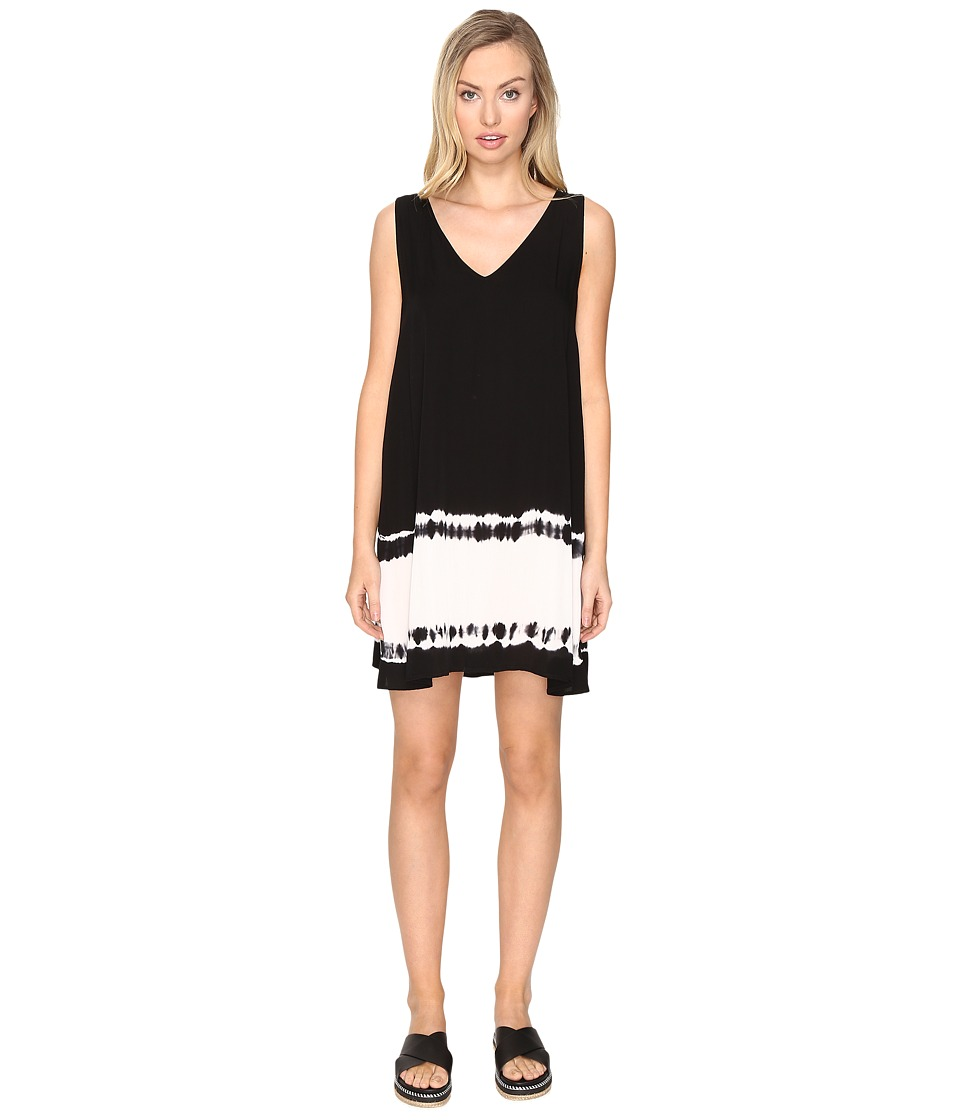 BB Dakota - Kaley Ombre Shift Dress (Black) Women's Dress