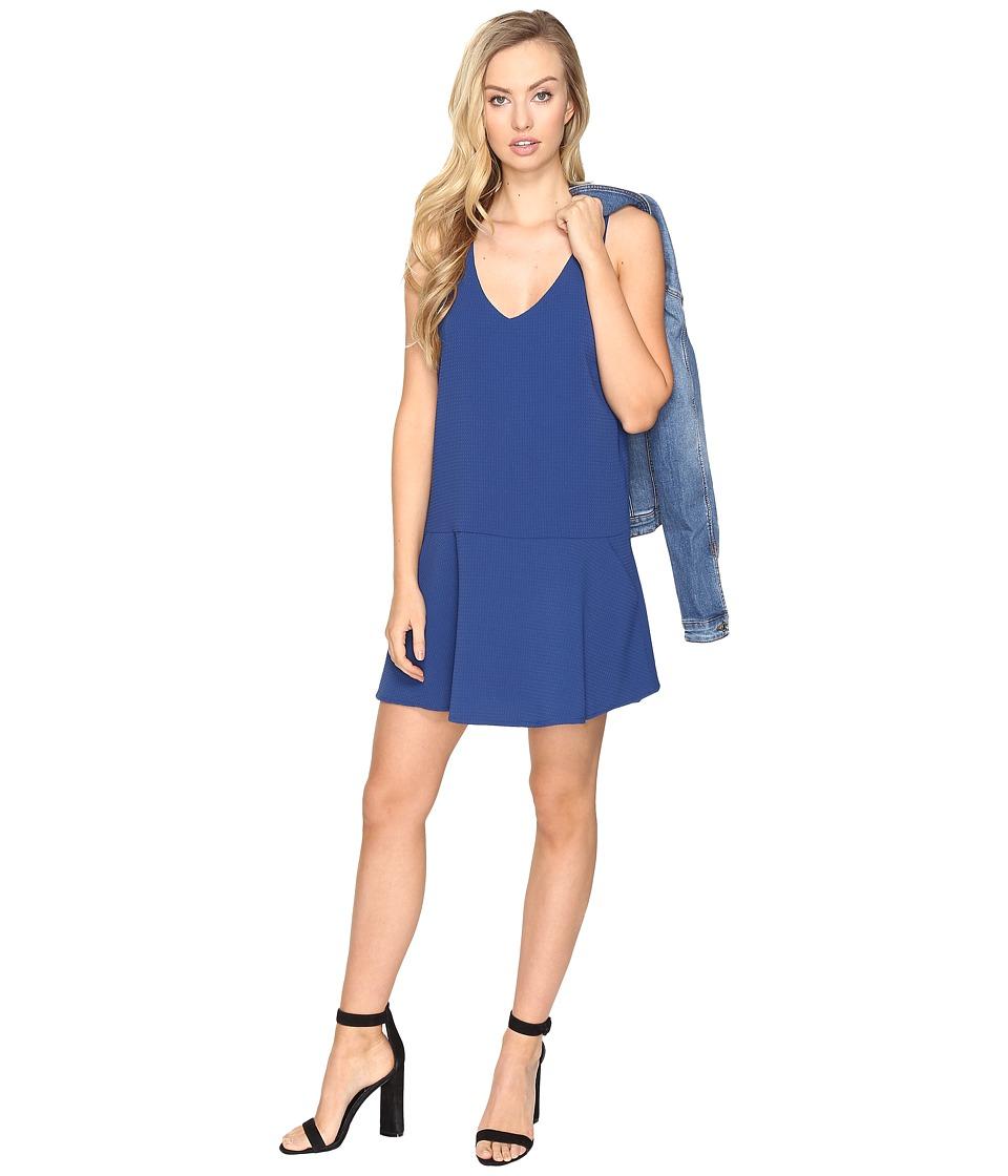 BB Dakota - Jarvis Textured Shift Dress (Indigo) Women's Dress