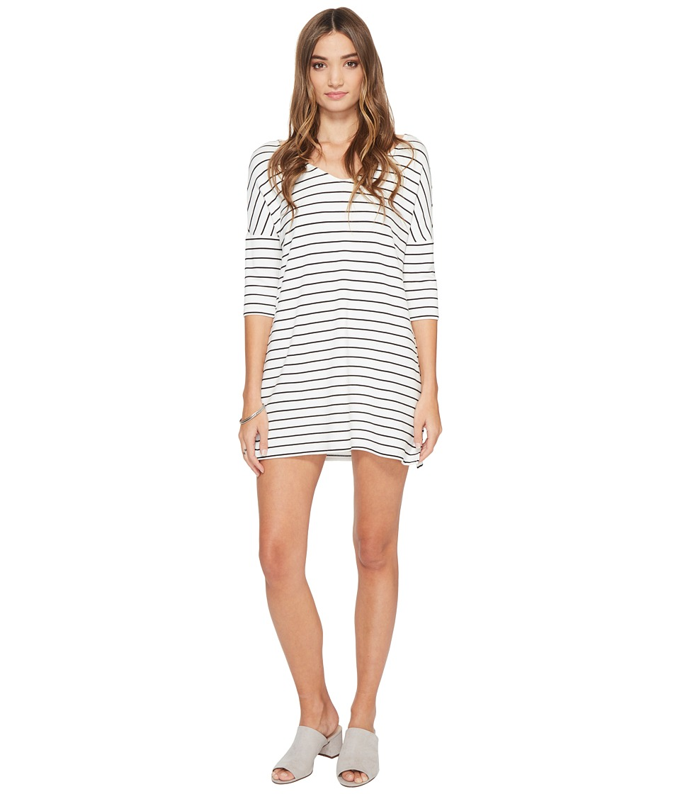 BB Dakota - Jaxson Striped Shift Dress (Ivory) Women's Dress