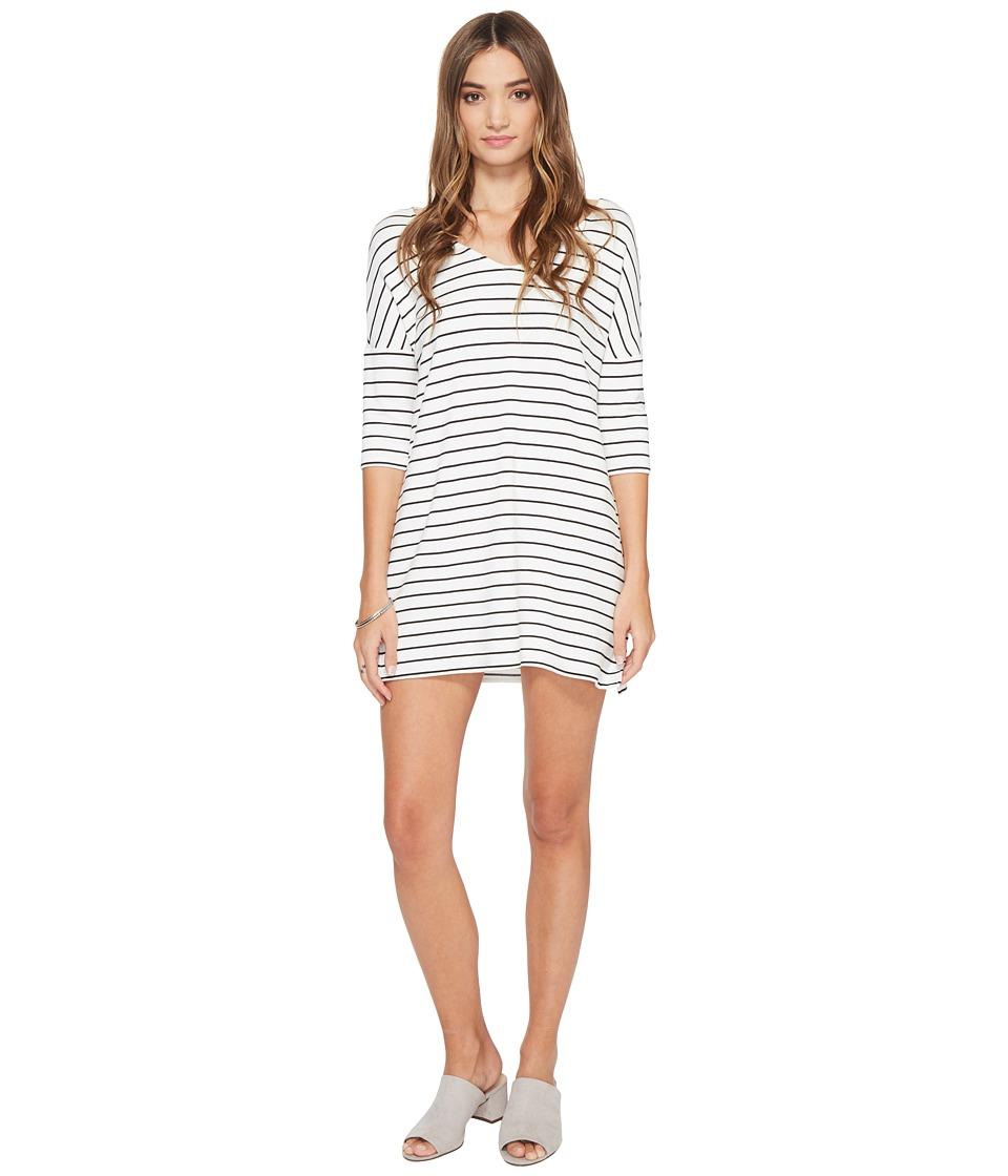 BB Dakota - Jaxson Striped Shift Dress (Ivory) Women's Dress