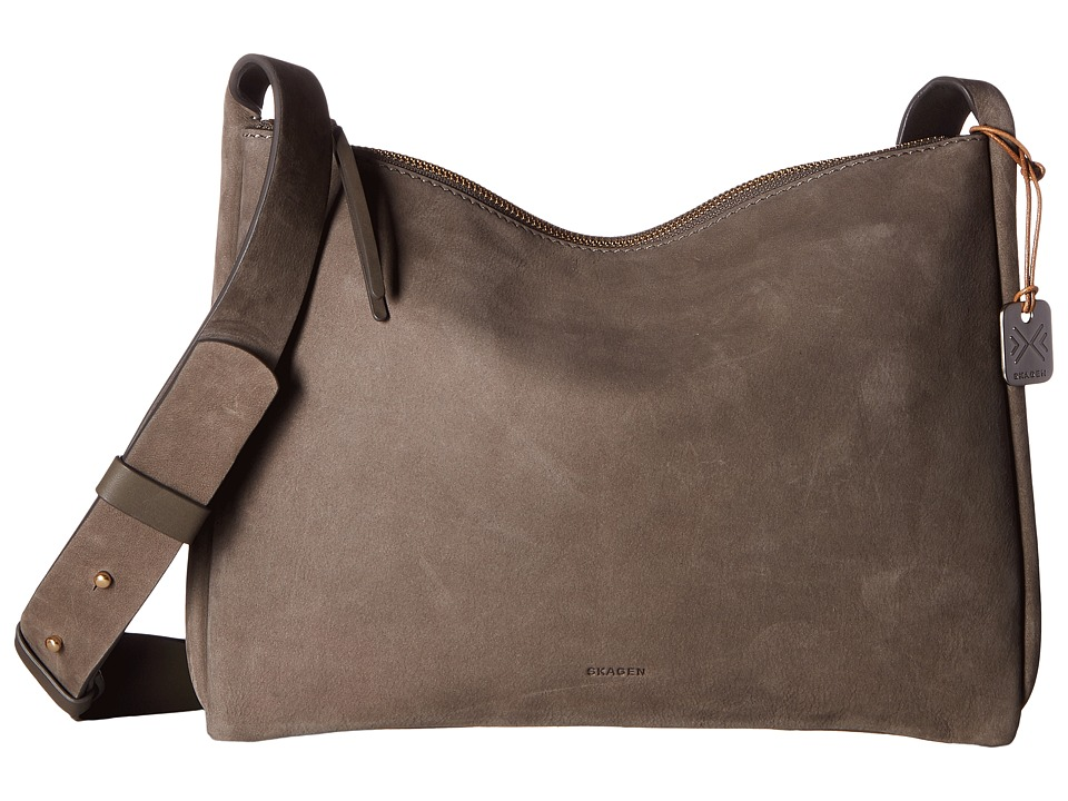 Skagen - Anesa Slim Crossbody (Heather) Cross Body Handbags