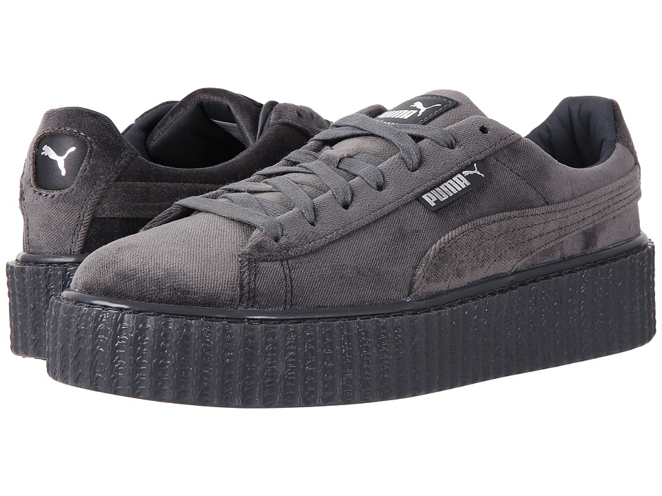 PUMA - Creeper Velvet (Glacier Gray/Glacier) Women's Shoes