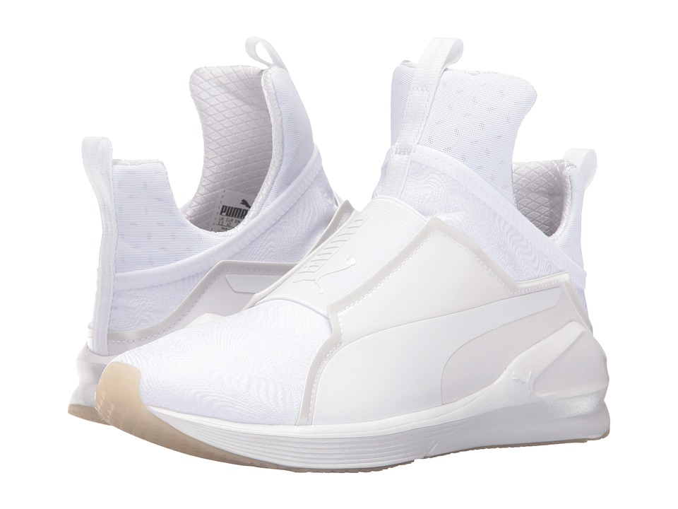 PUMA - Fierce Bright (Puma White/Puma White) Women's Shoes