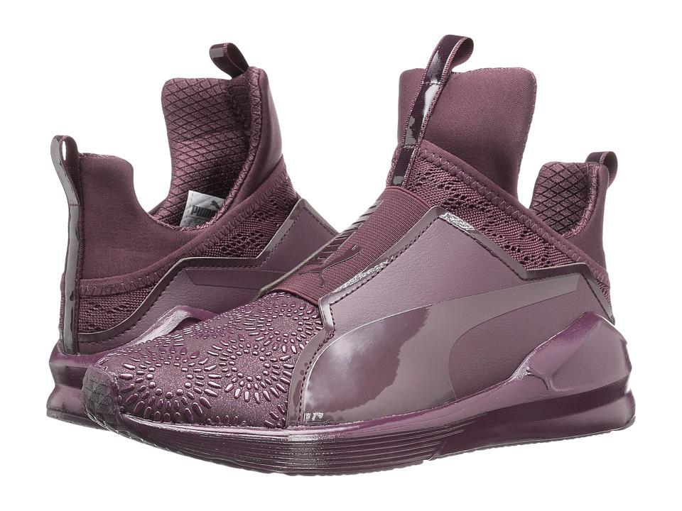 PUMA - Fierce KRM (Winetasting/Red Plum) Women's Shoes