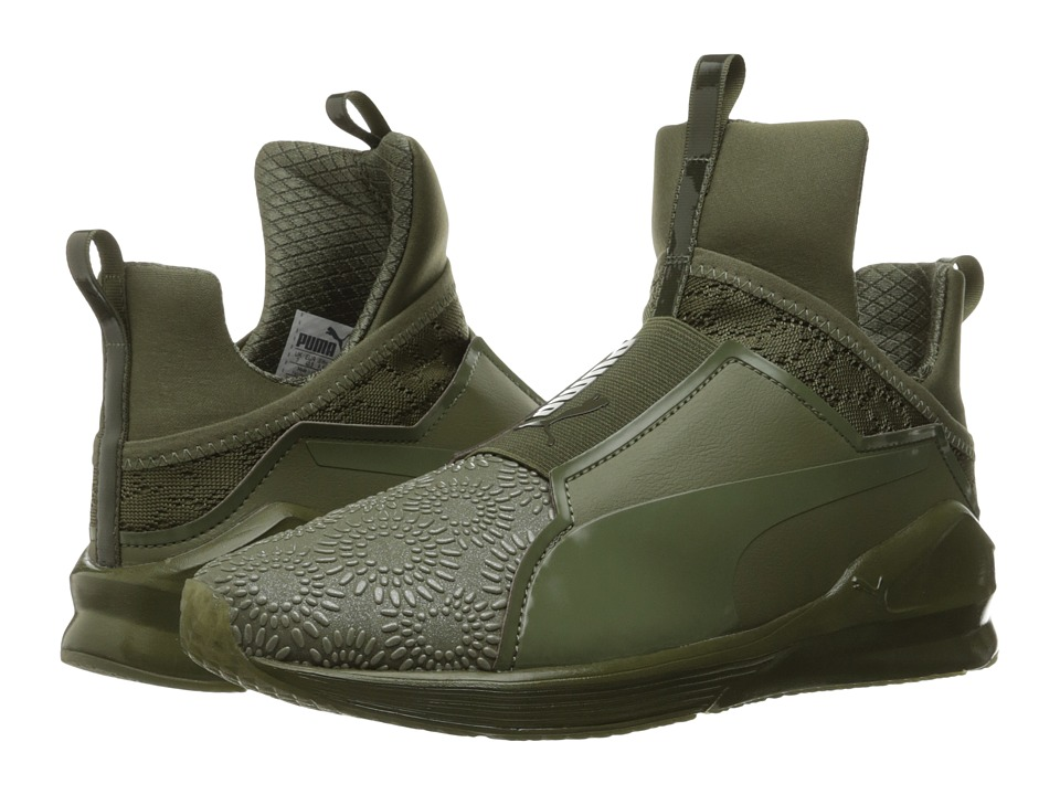 PUMA Fierce KRM (Burnt Olive/Puma Black) Women