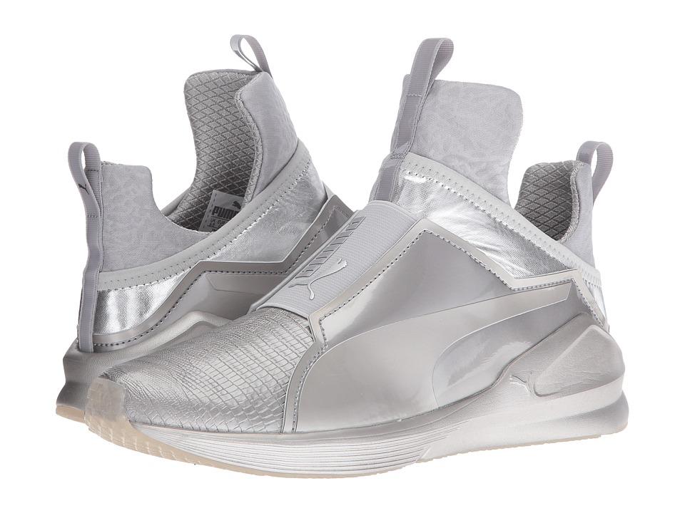 PUMA - Fierce Metallic (Silver) Women's Shoes