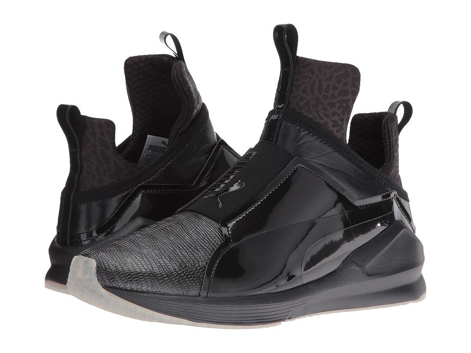 PUMA - Fierce Metallic (PUMA Black) Women's Shoes