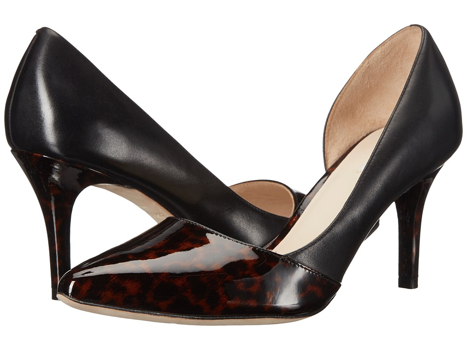 Cole Haan - Highline Pump (Brown/Tortoise/Black Patent) High Heels