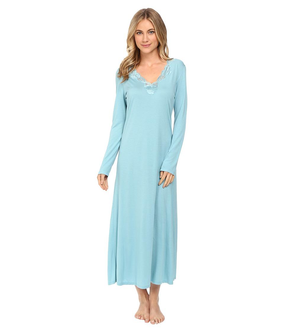 Natori - Zen Floral Lounger (Blue Shell) Women's Pajama