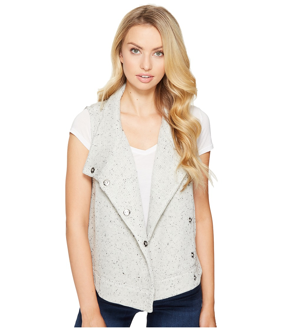 BB Dakota - Daya Knit Vest (Heather Grey) Women's Vest