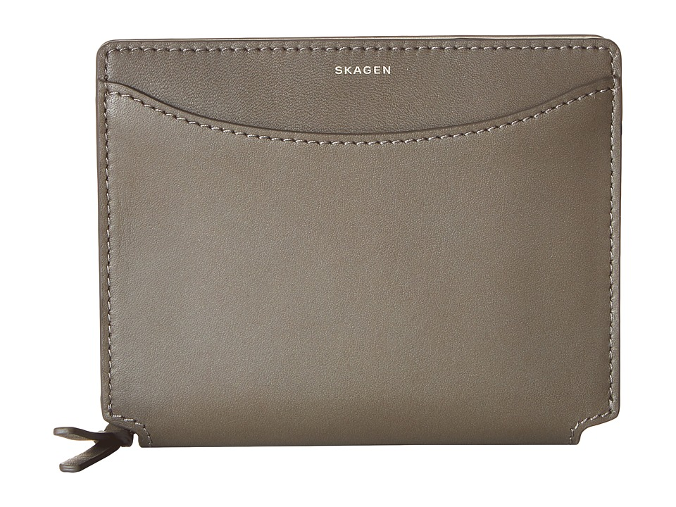 Skagen - Ryle Medium Zip Wallet (Heather) Wallet Handbags
