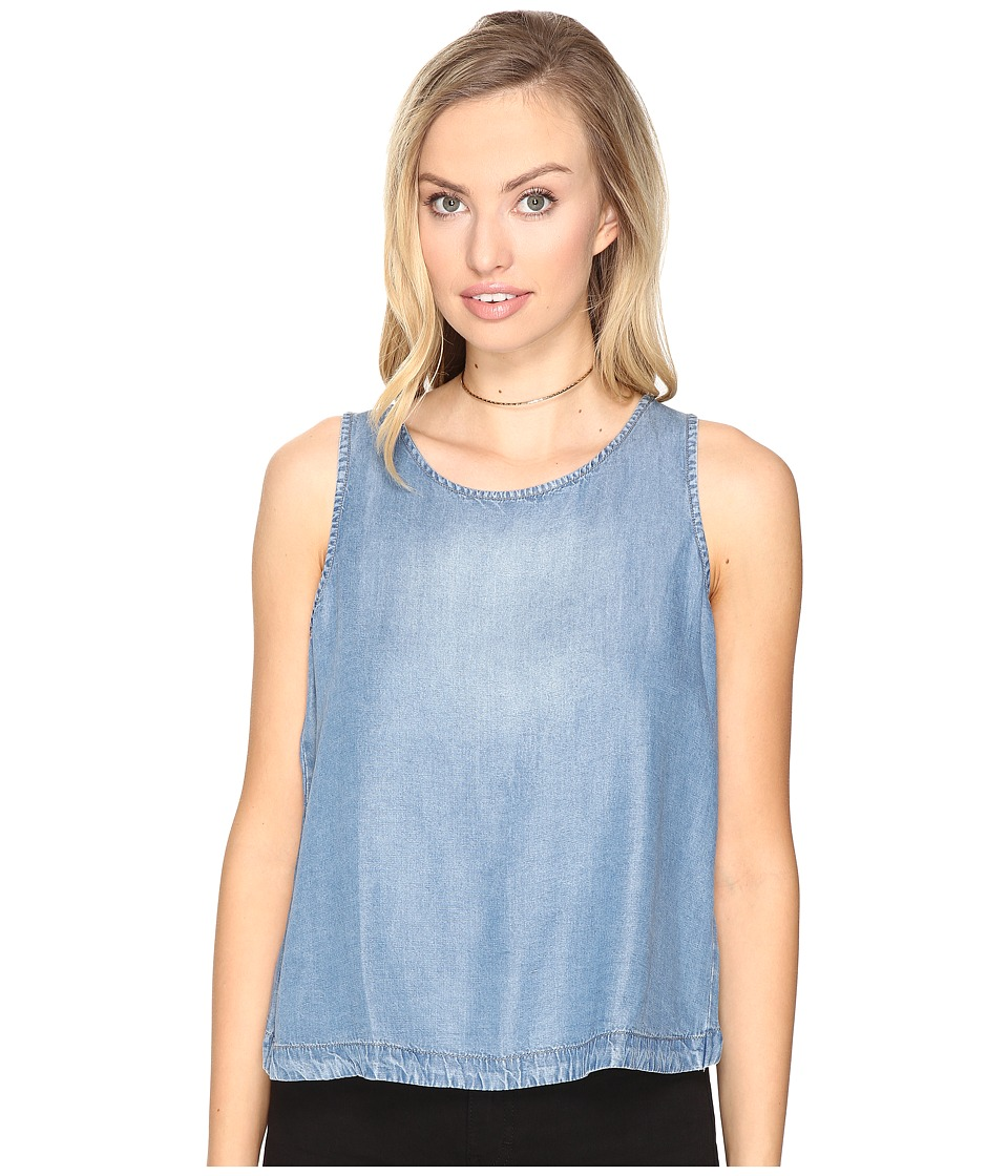 BB Dakota - Tamala Denim Tank Top (Medium Blue) Women's Sleeveless