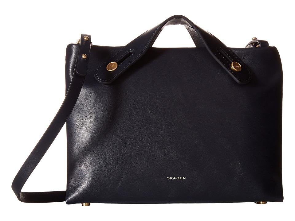 Skagen - Mini Mikkeline Satchel (Ink) Cross Body Handbags