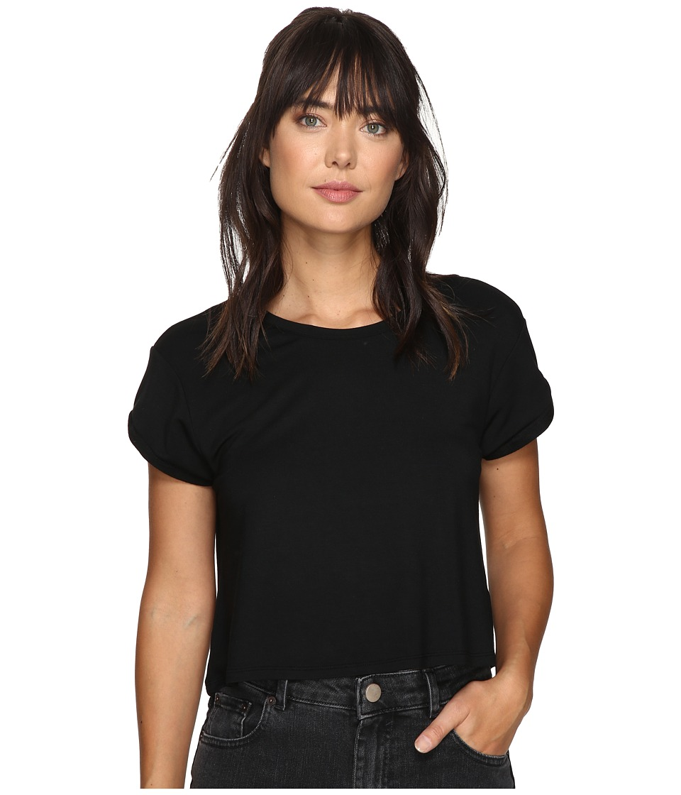 BB Dakota - Sudrey Super Soft Top (Black) Women's Clothing