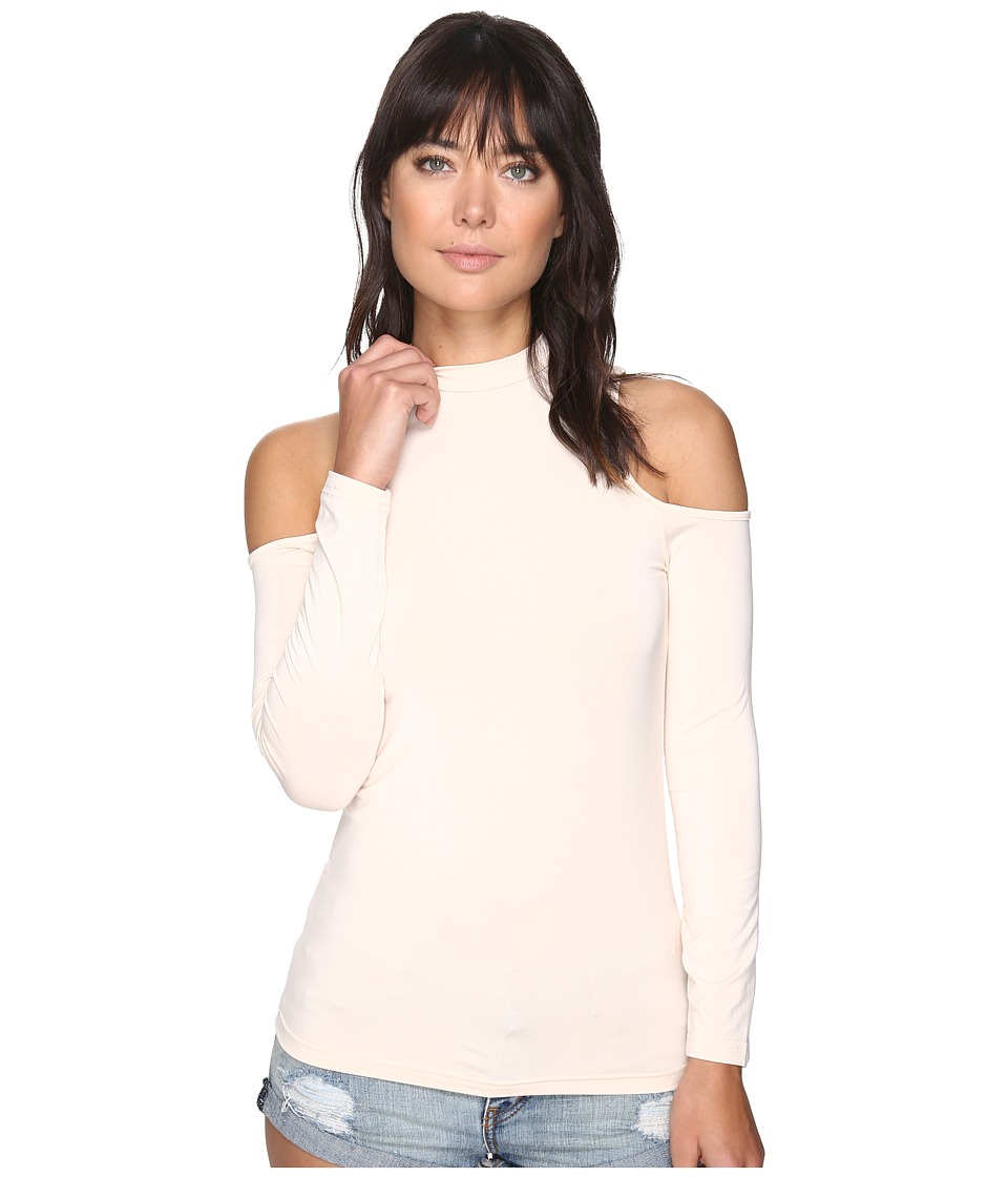 BB Dakota - Edell Cold Shoulder Top (Peach Blossom) Women's Clothing