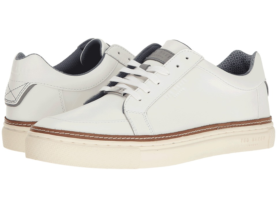 Ted Baker - Rouu (White Leather) Men's Shoes