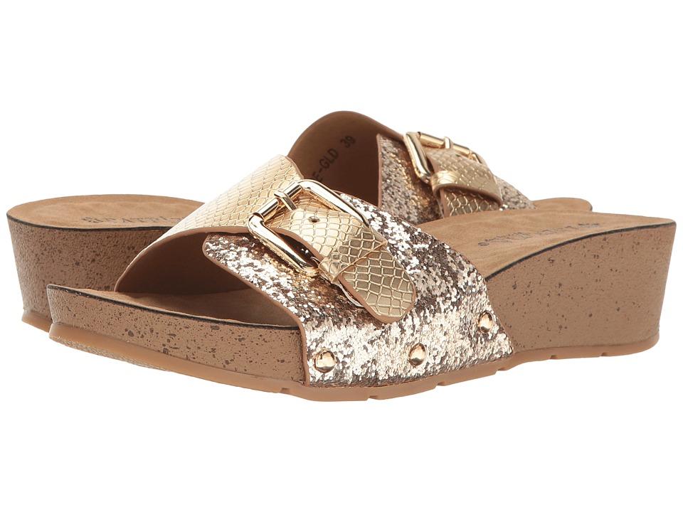 PATRIZIA - Monroe (Gold) Women's Shoes