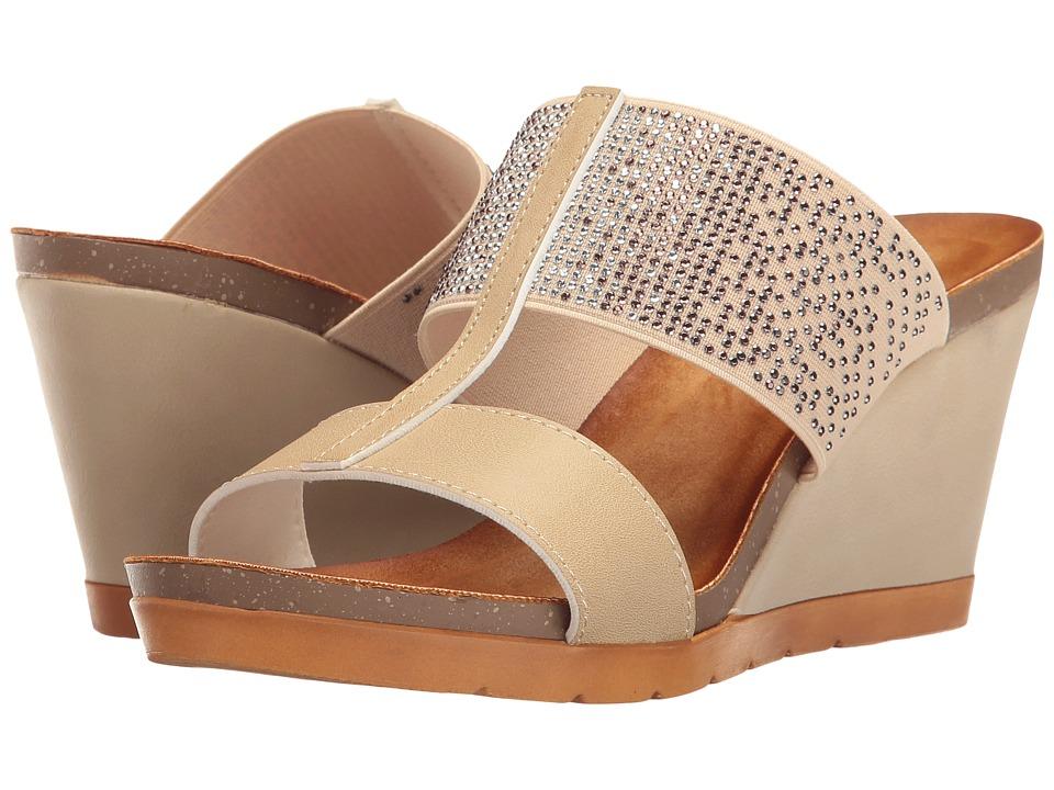 PATRIZIA - Patna (Beige) Women's Wedge Shoes