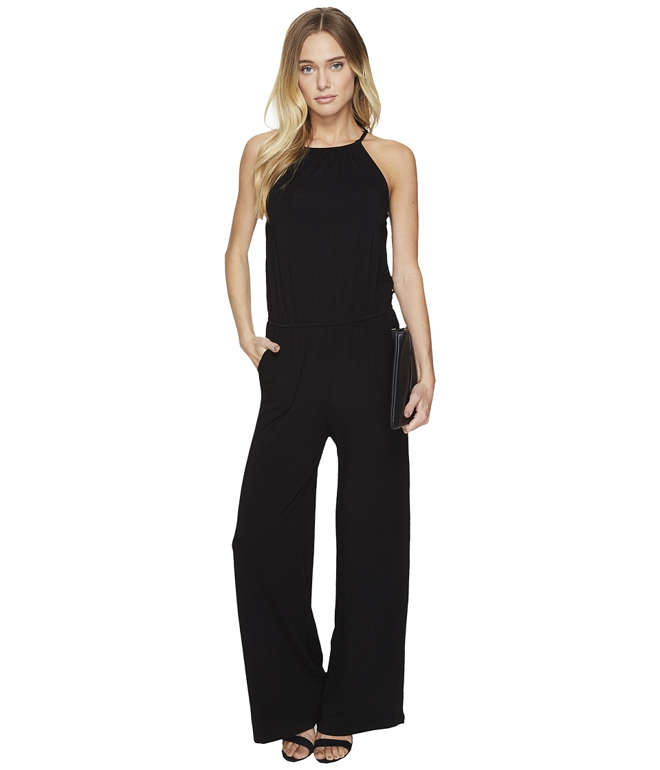 BB Dakota - Ellets Lace Detailed Jumpsuit (Black) Women's Jumpsuit & Rompers One Piece