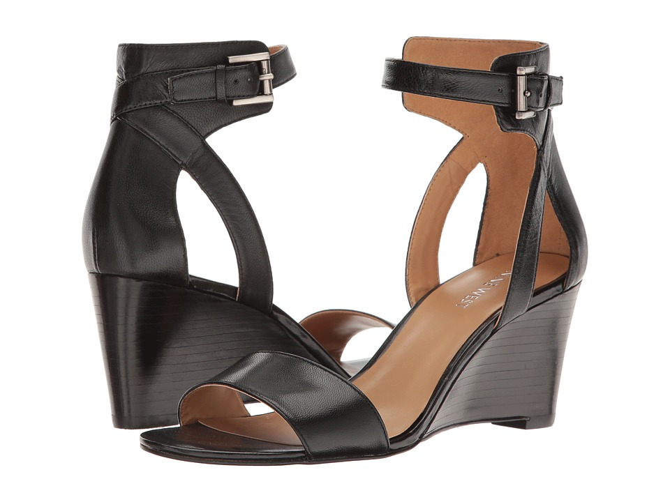 Nine West - Nobody (Black Leather) Women's Shoes