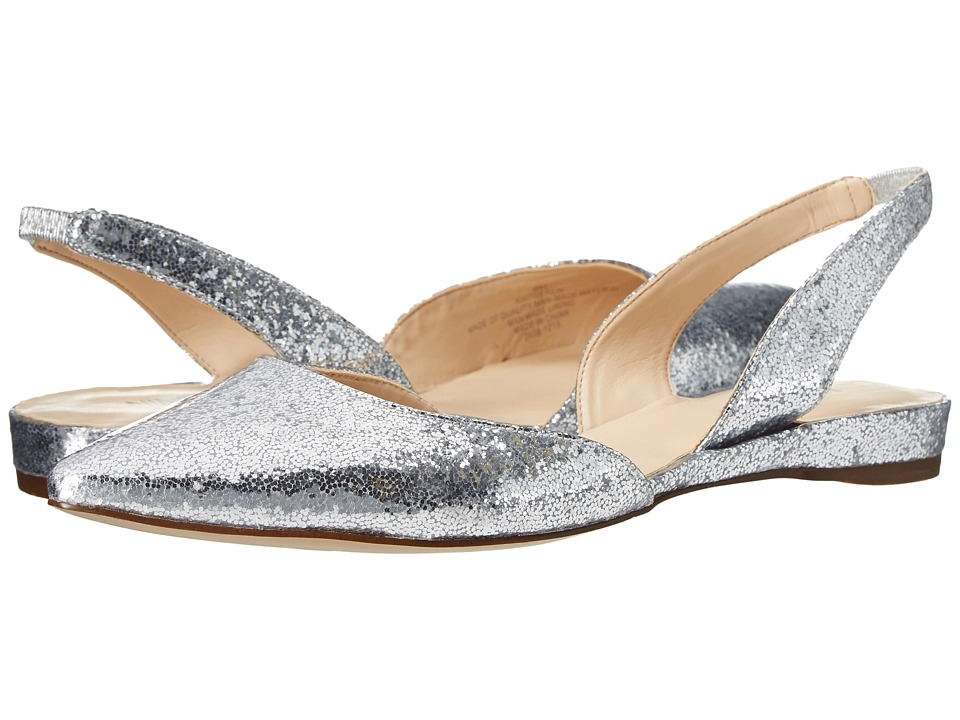 Nine West - Werein (Silver Synthetic) Women's Shoes