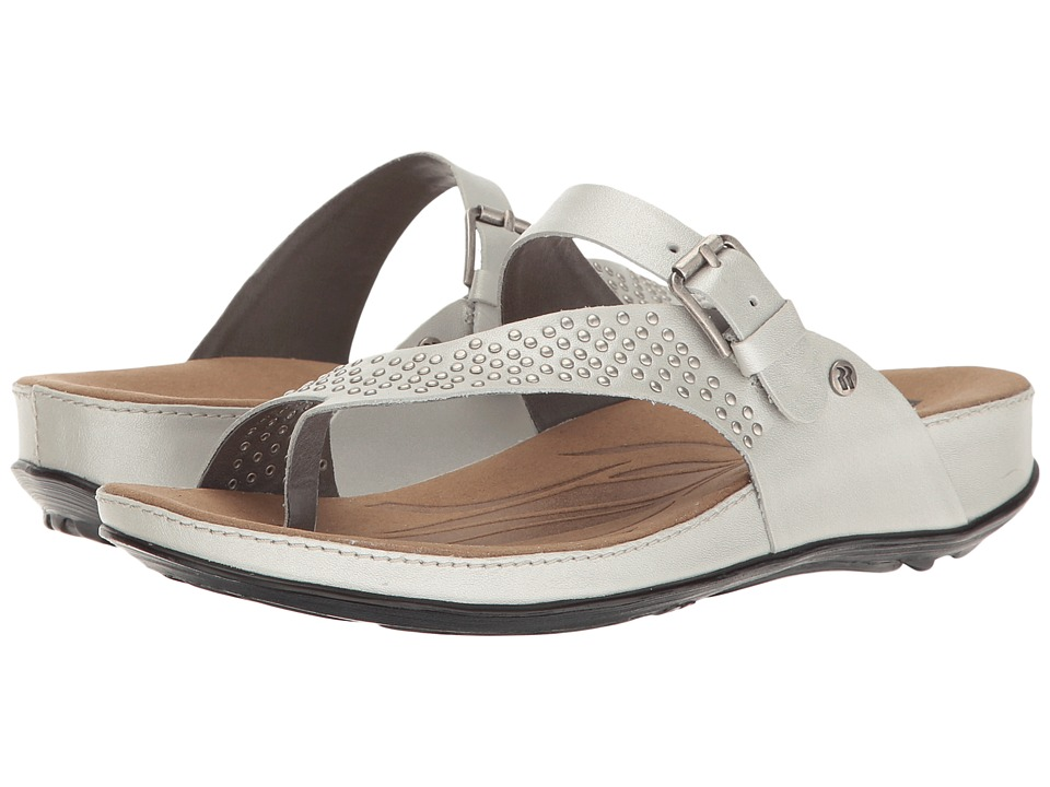 Romika - Fidschi 34 (Silver) Women's Sandals