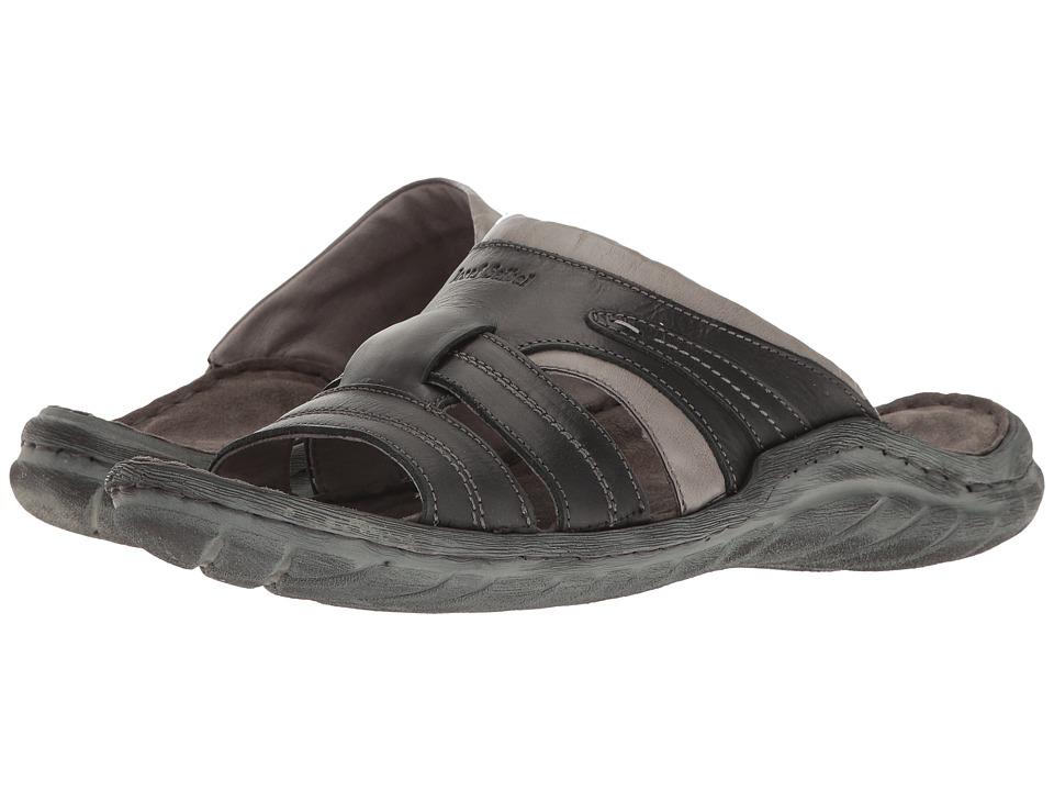 Josef Seibel - Nico 01 (Black/Kombi) Men's Sandals