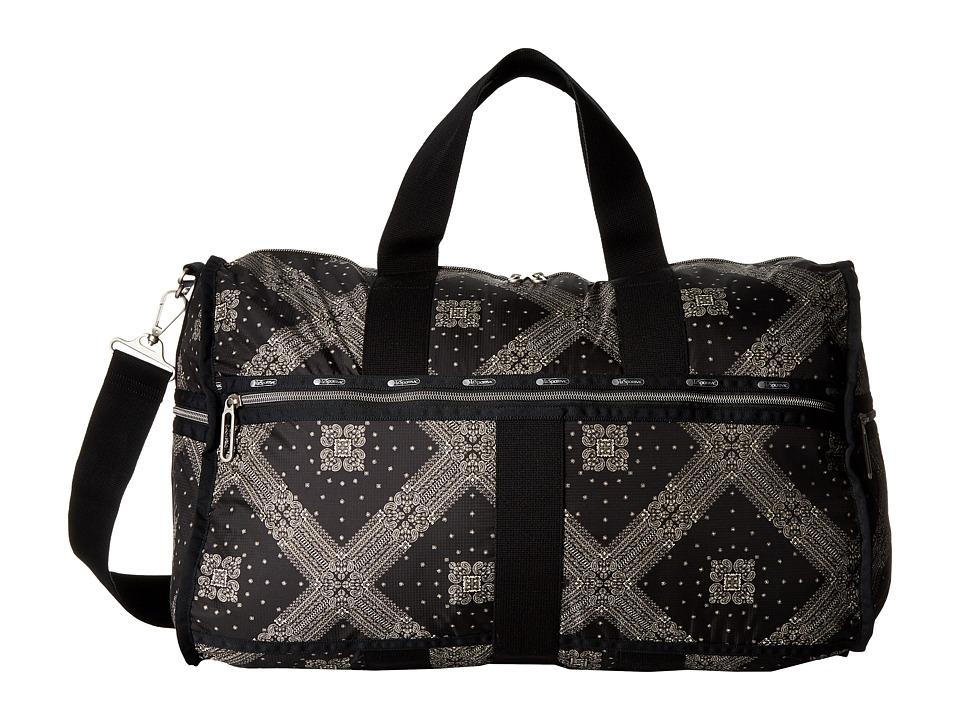 LeSportsac Luggage - Large Weekender (Star Guides Black) Weekender/Overnight Luggage