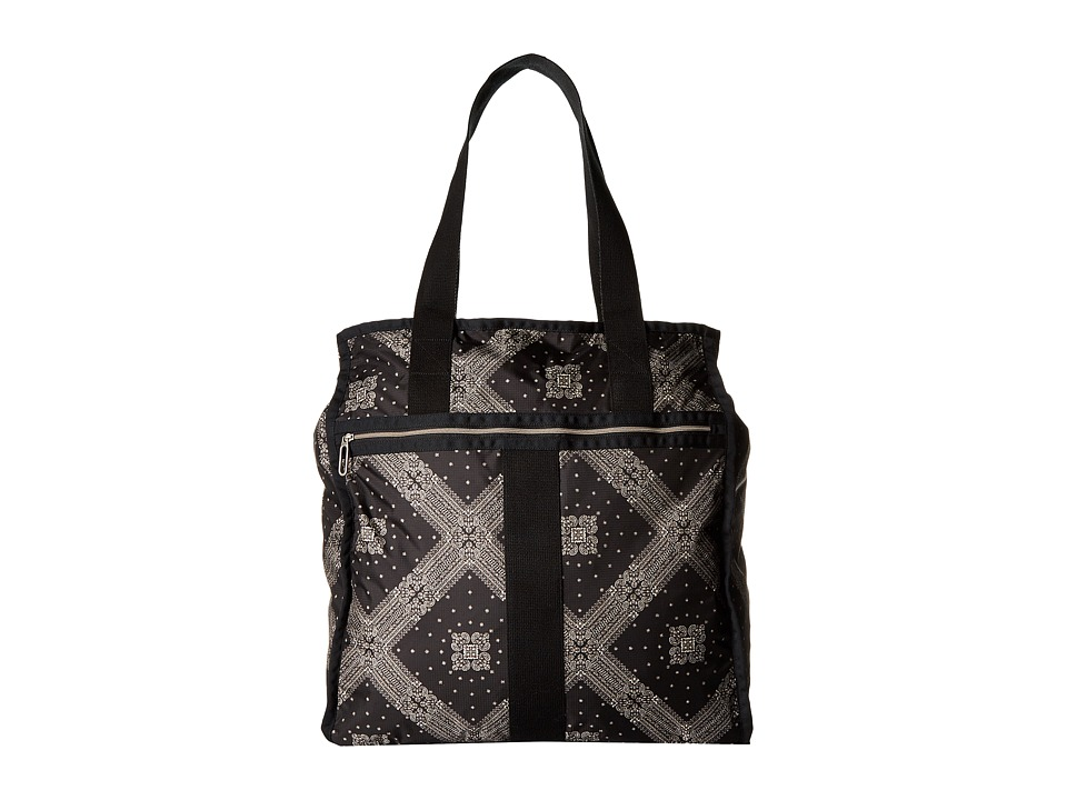 LeSportsac Luggage - Large City Tote (Star Guides Black) Tote Handbags