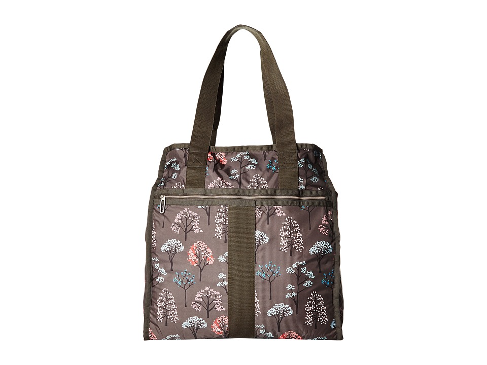 LeSportsac Luggage - Large City Tote (Tree Top) Tote Handbags