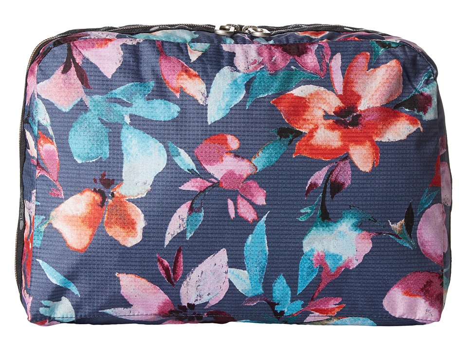 LeSportsac Luggage XL Essential Cosmetic Bag (Aurora) Cosmetic Case