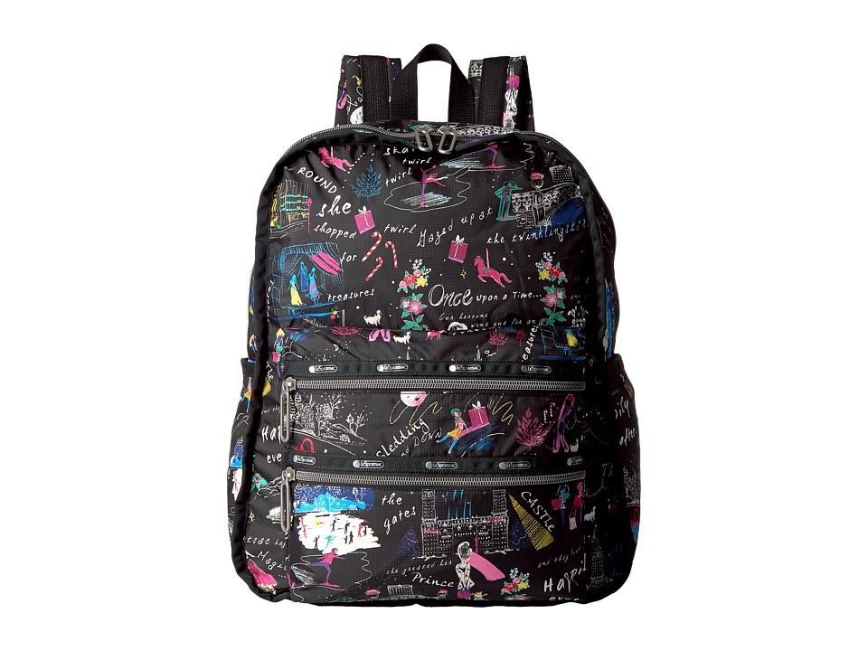 LeSportsac - Functional Backpack (Wonderland) Backpack Bags