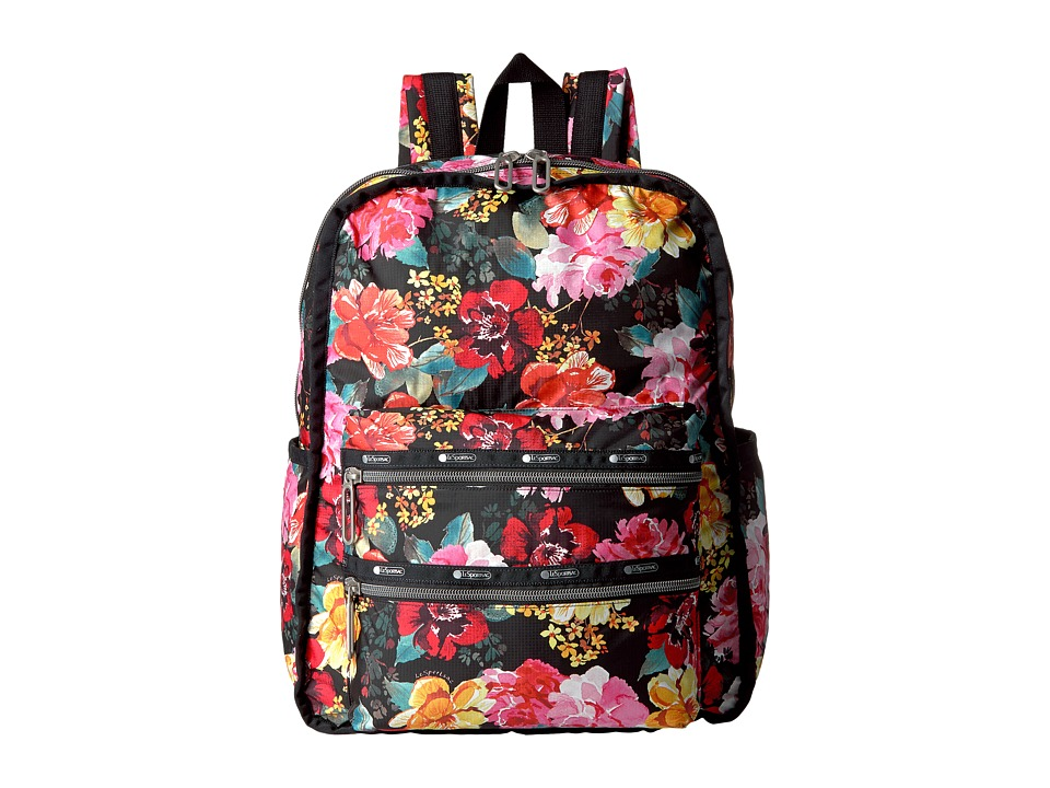 LeSportsac - Functional Backpack (Romantics Black) Backpack Bags