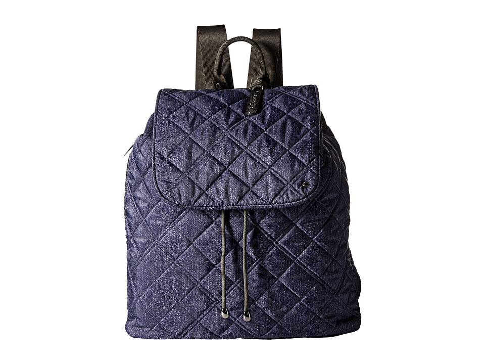 LeSportsac - City Gramercy Backpack (Ink Denim Quilted) Backpack Bags