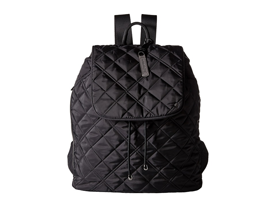 LeSportsac - City Gramercy Backpack (Phantom Black Quilted) Backpack Bags