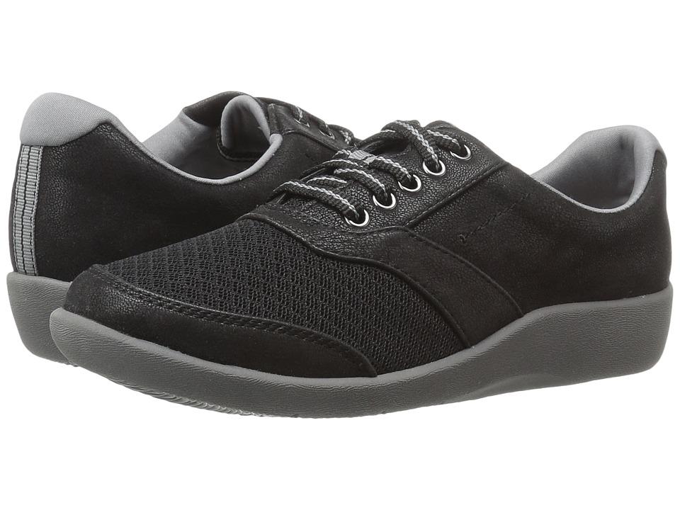 Clarks - Sillian Emma (Black) Women's Shoes