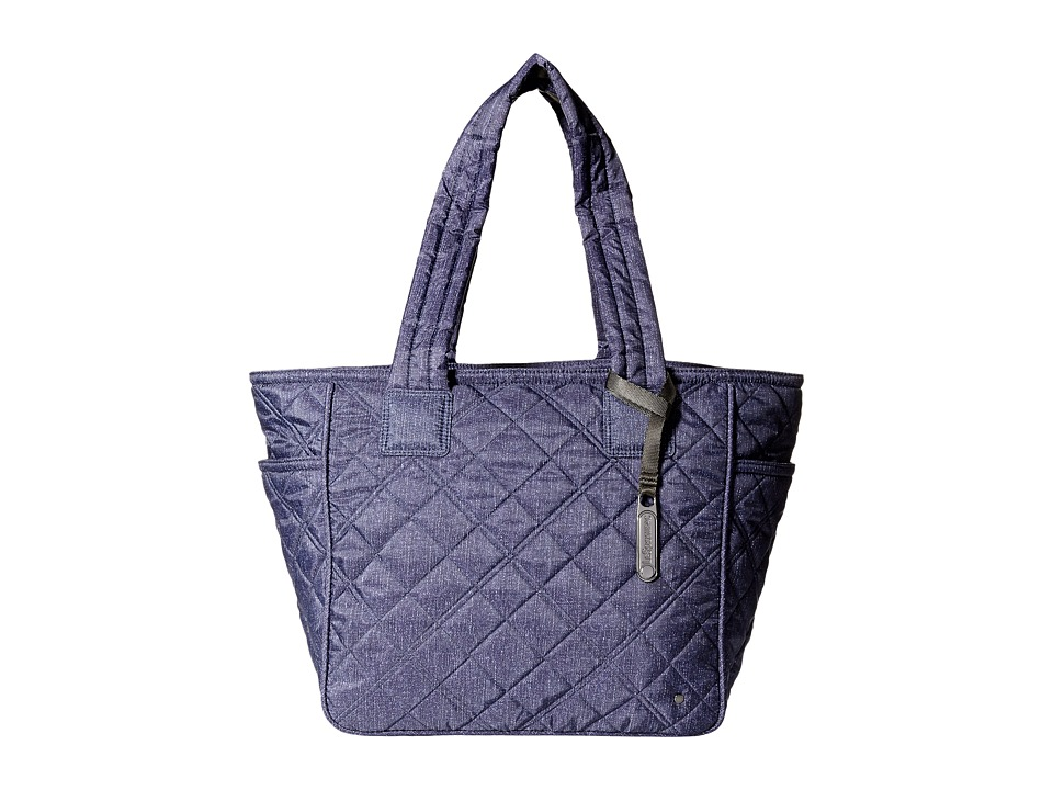 LeSportsac - City Chelsea Tote (Ink Denim Quilted) Tote Handbags