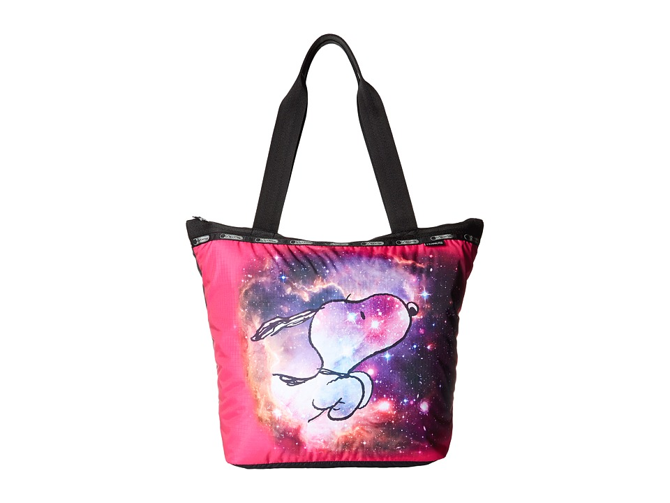 LeSportsac - Hailey Tote (Galaxy Snoopy) Tote Handbags