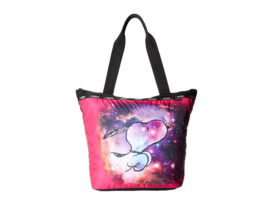 LeSportsac - Hailey Tote (Galaxy Snoopy) Tote Handbags