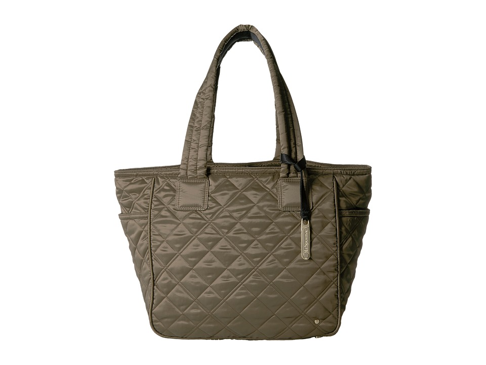 LeSportsac - City Chelsea Tote (Metallic Bronze Quilted) Tote Handbags