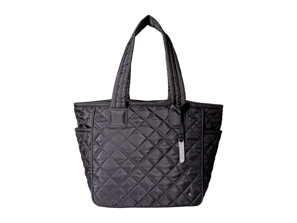 LeSportsac - City Chelsea Tote (Phantom Black Quilted) Tote Handbags