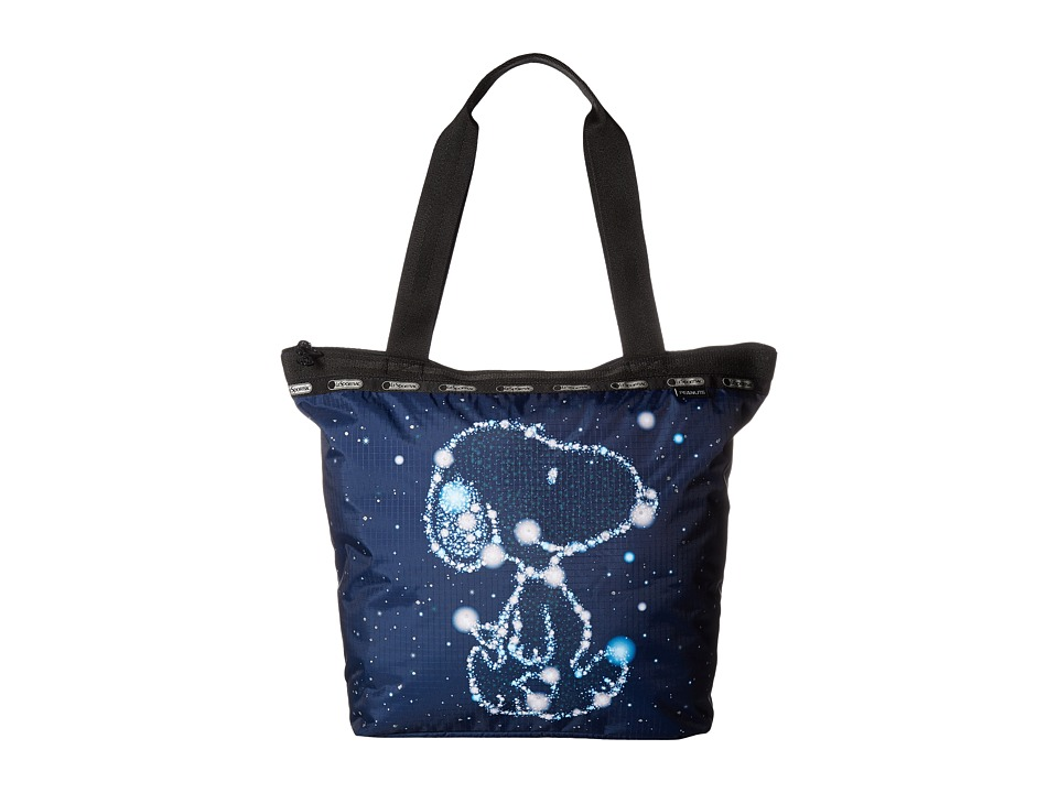LeSportsac - Hailey Tote (Snoopy Stars) Tote Handbags