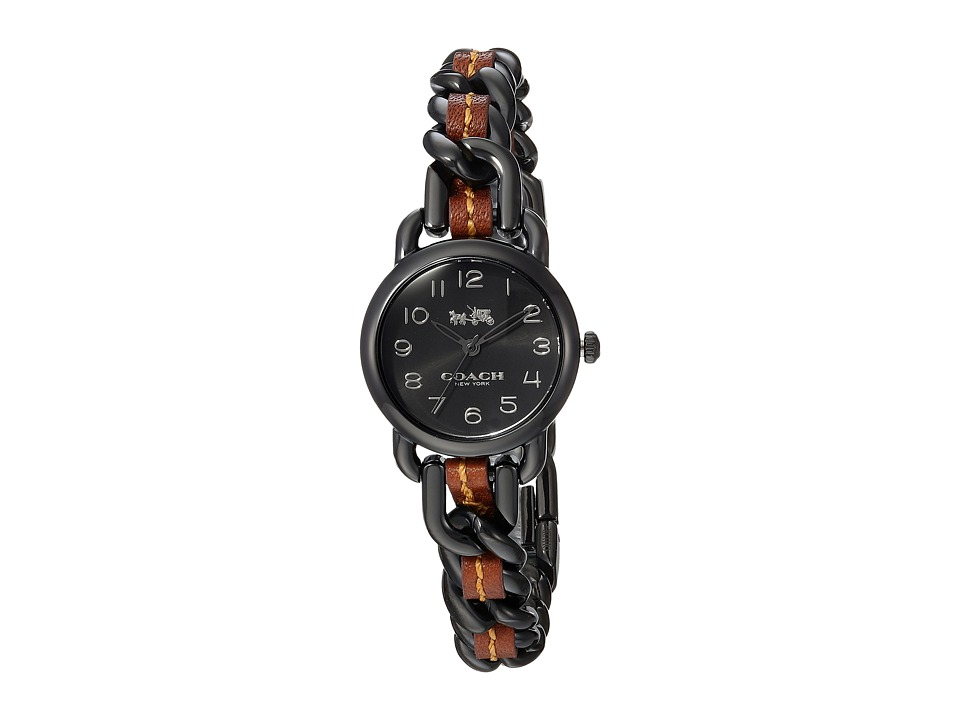 COACH - Delancey - 14502724 (Black) Watches