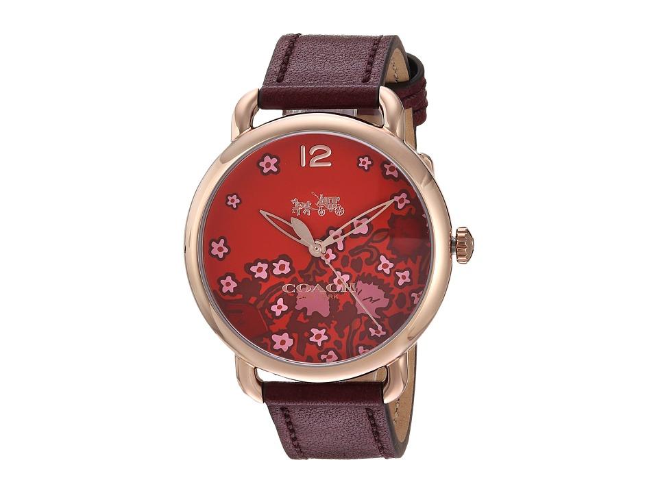 COACH - Delancey - 14502730 (Floral) Watches