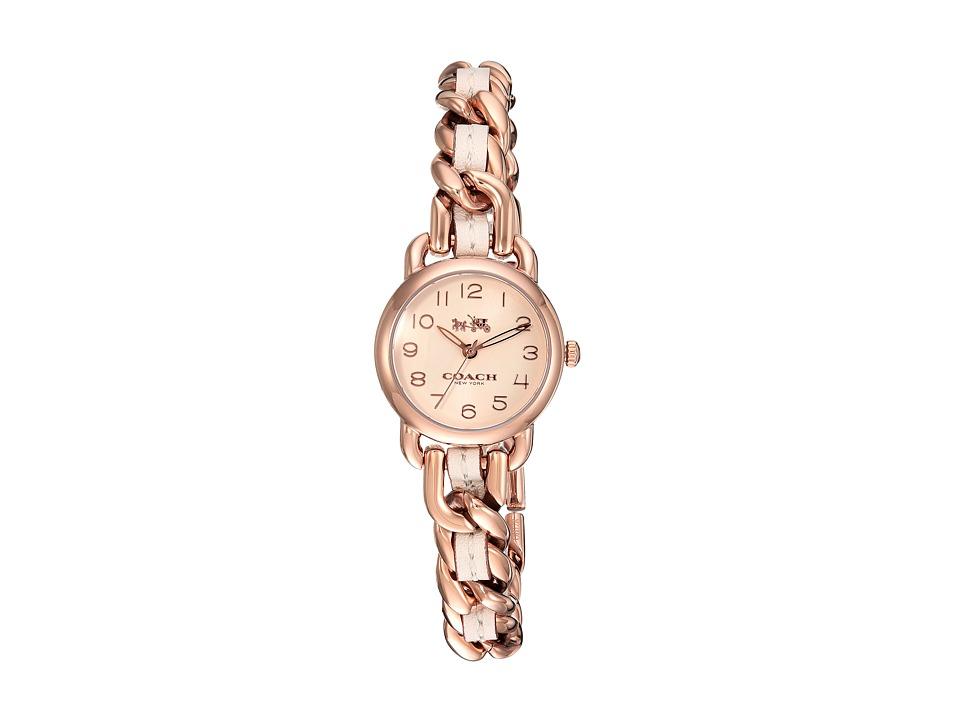 COACH - Delancey - 14502726 (Chalk) Watches