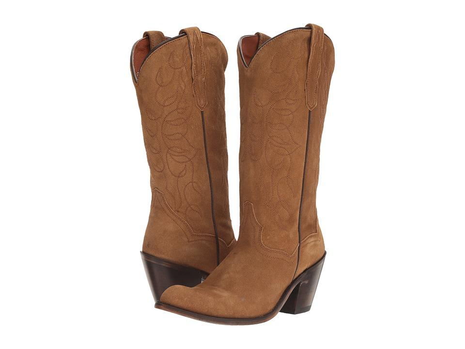 Dan Post Megan (Tan Suede) Cowboy Boots