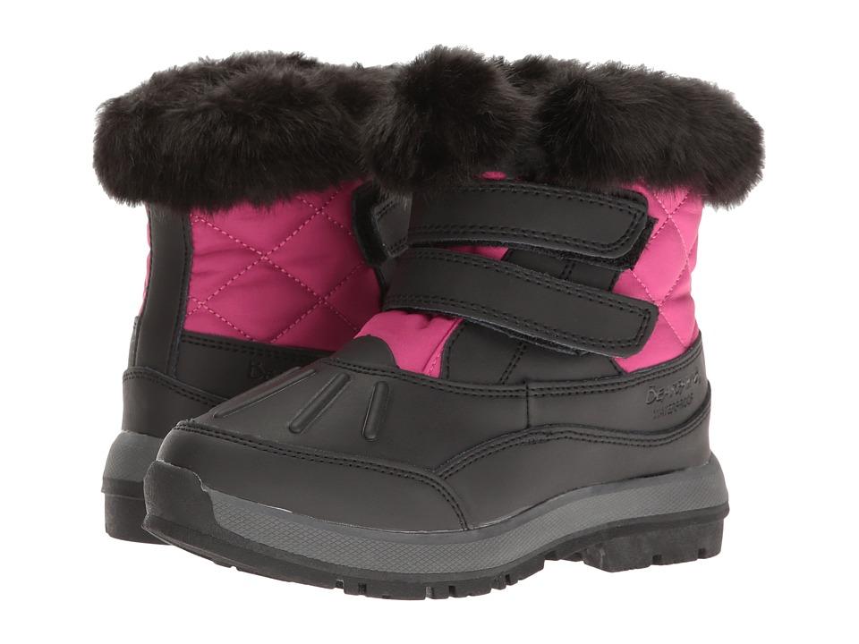 Bearpaw Kids - Amanda (Little Kid/Big Kid) (Black/Fuchsia) Girls Shoes
