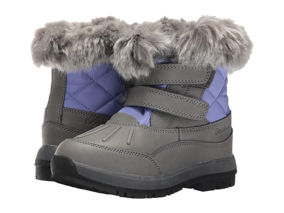 Bearpaw Kids - Amanda (Little Kid/Big Kid) (Gray/Lavendar) Girls Shoes