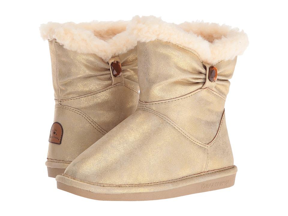 Bearpaw Kids - Robyn (Little Kid/Big Kid) (Gold) Girls Shoes